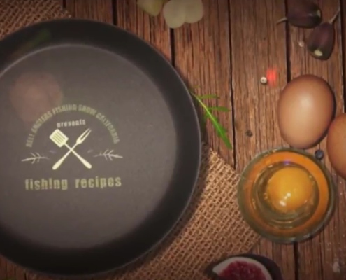 Reel Anglers Fishing Show Cooking tips