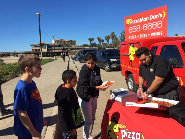Reel Anglers Fishing Show at Ventura Pier with Pizza Man Dan's
