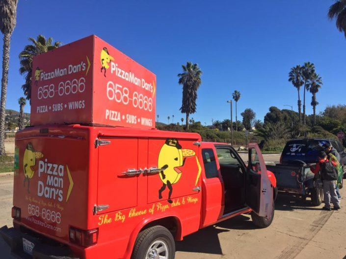 Reel Anglers Fishing Show partner up with Pizza Man Dan at Ventura Pier
