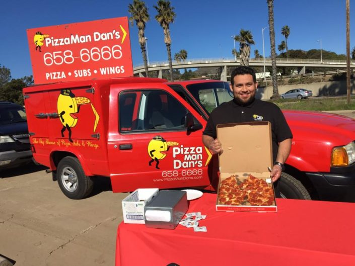 Reel Anglers Fishing Show partner up with Pizza Man Dan's