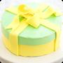 framboise patisserie custom cake design - Standard Ribbon & Confetti