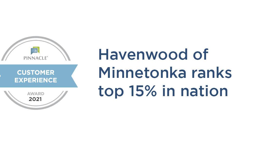Havenwood of Minnetonka ranks top 15% in the nation