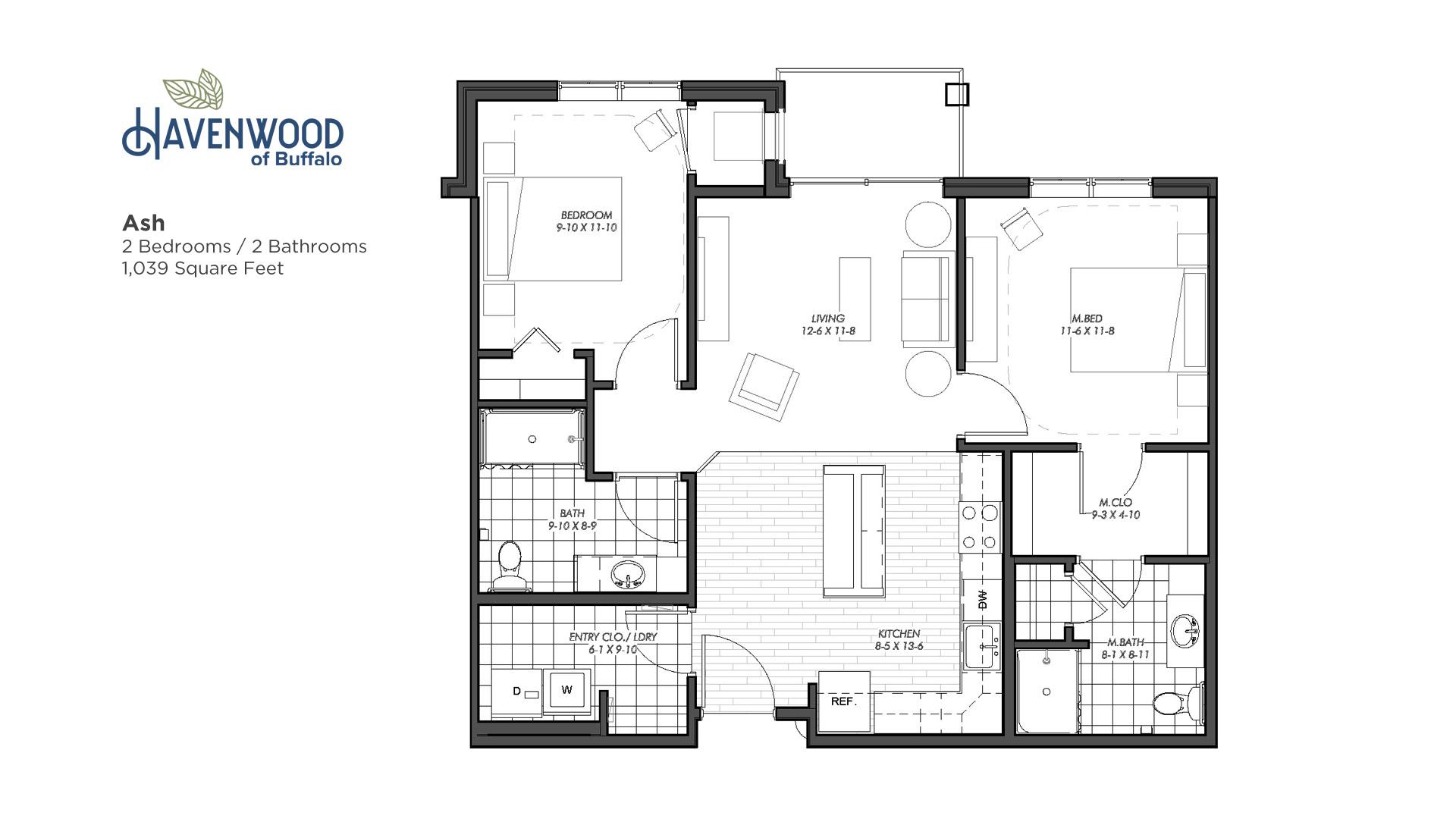 Havenwood of Buffalo Ash Floor Plan