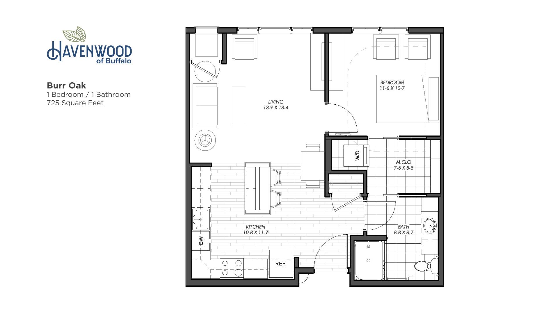 Havenwood of Buffalo Burr Oak Floor Plan