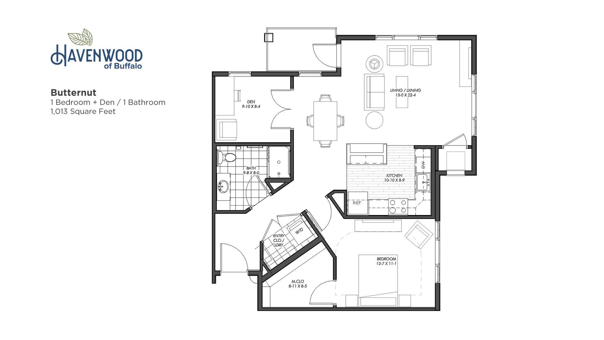 Havenwood of Buffalo Butternut Floor Plan