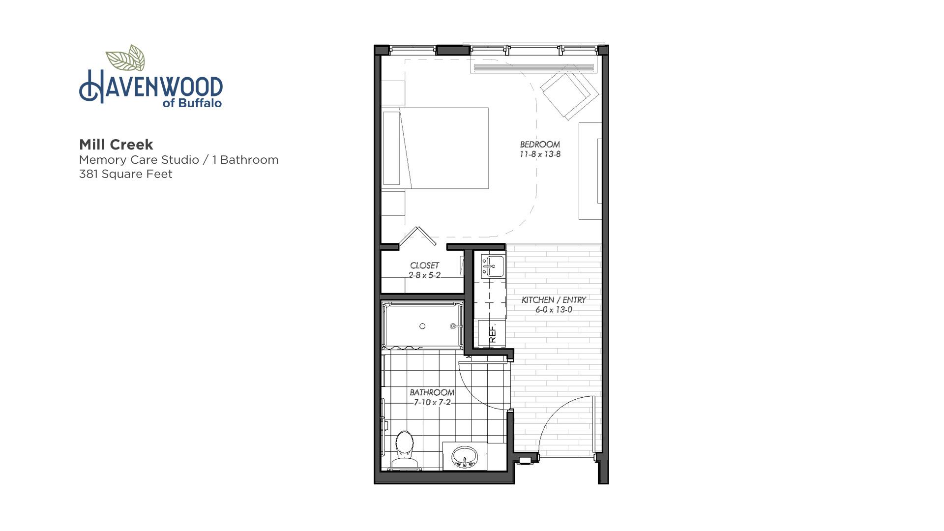Havenwood of Buffalo Mill Creek Floor Plan