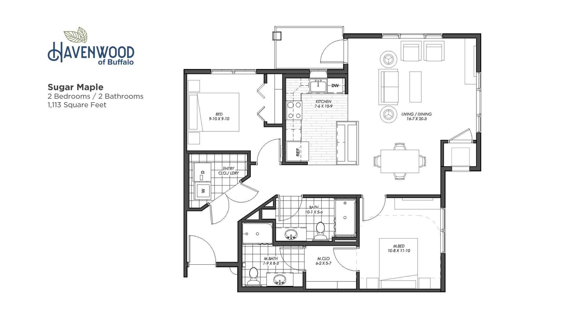 Havenwood of Buffalo Sugar Maple Floor Plan