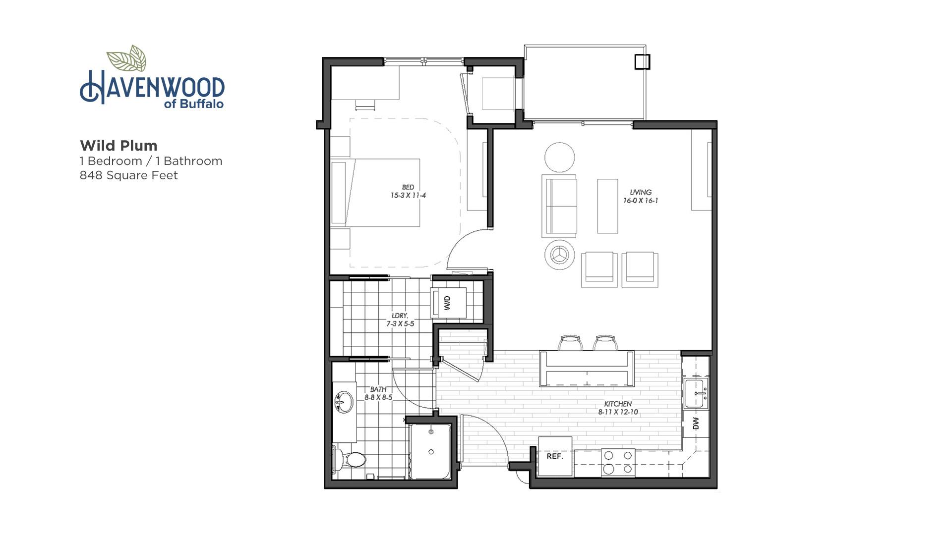 Havenwood of Buffalo Wild Plum Floor Plan