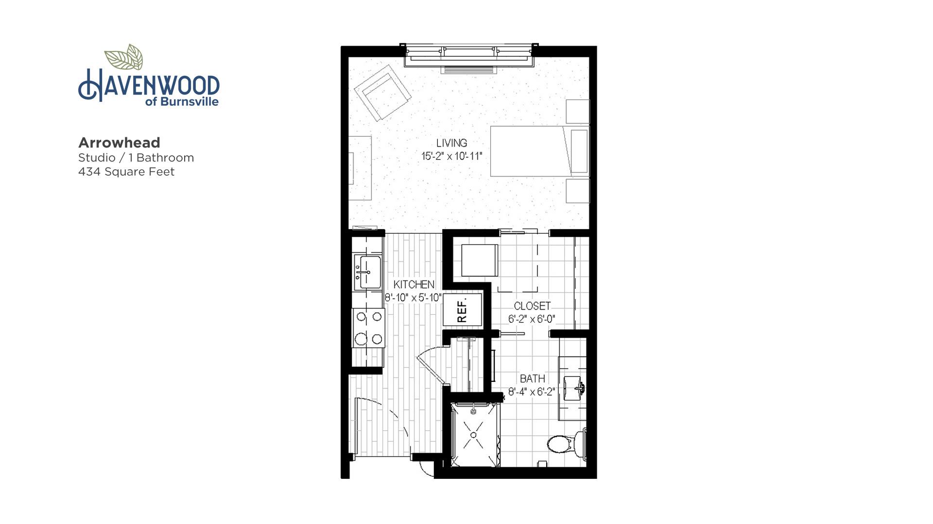 Havenwood of Burnsville Arrowhead Floor Plan