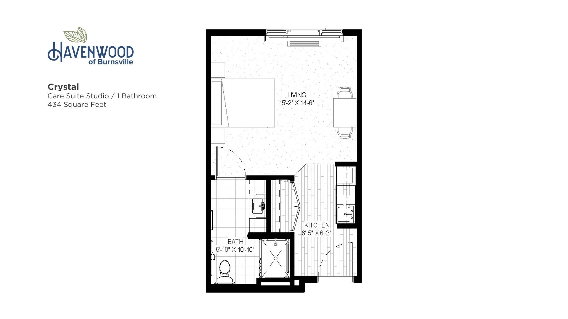 Havenwood of Burnsville Crystal Floor Plan