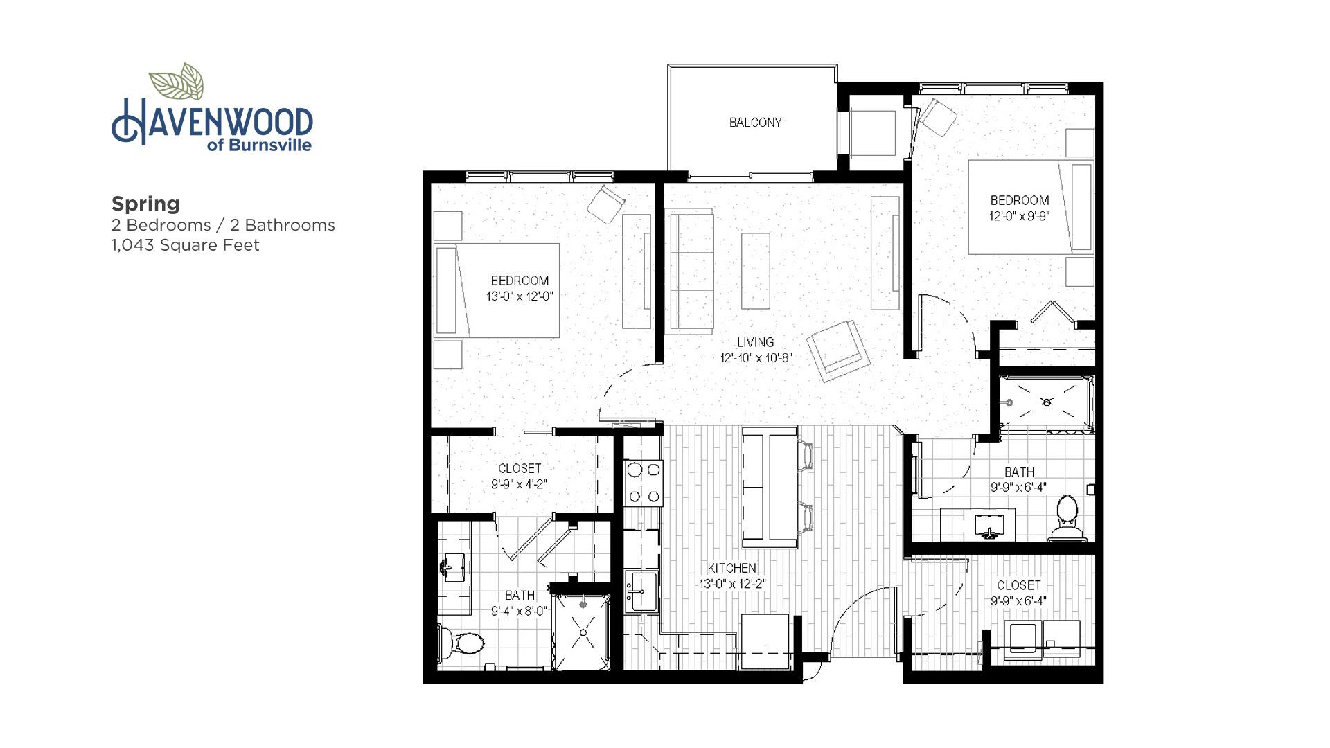 Havenwood of Burnsville Spring Floor Plan