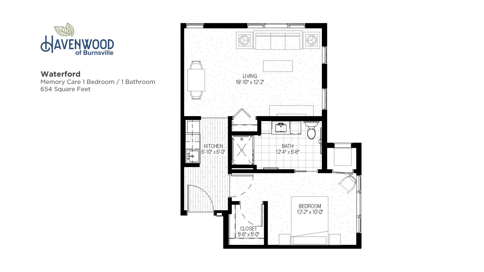 Havenwood of Burnsville Waterford Floor Plan