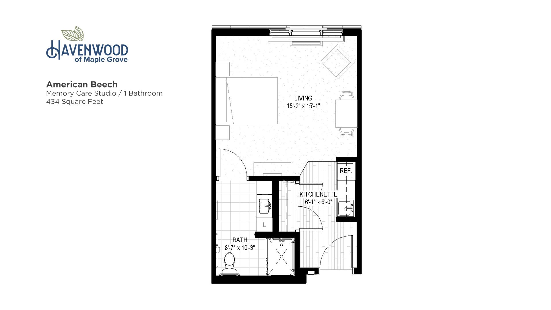 Havenwood of Maple Grove American Beech Floor Plan
