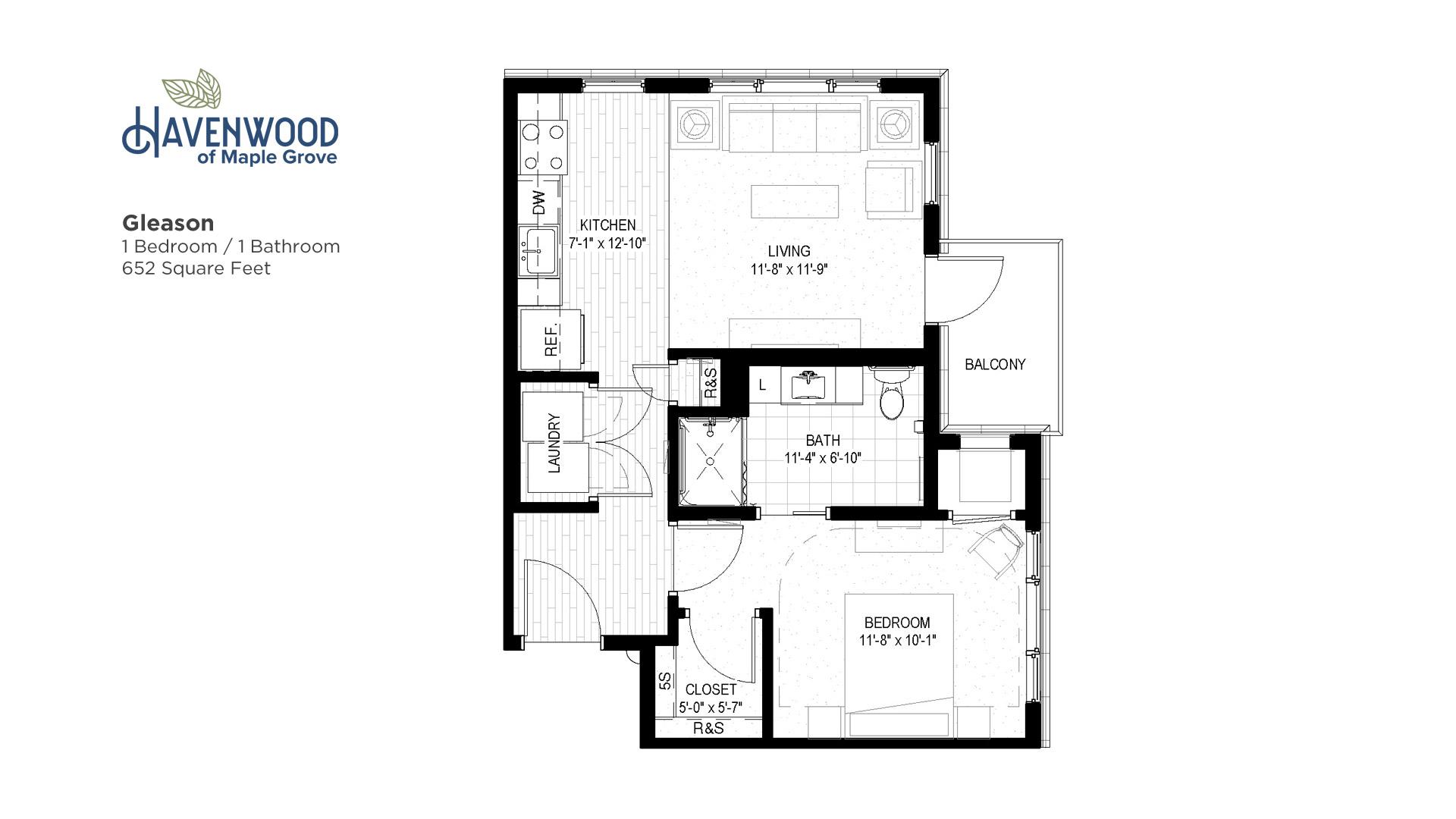 Havenwood of Maple Grove Gleason Floor Plan