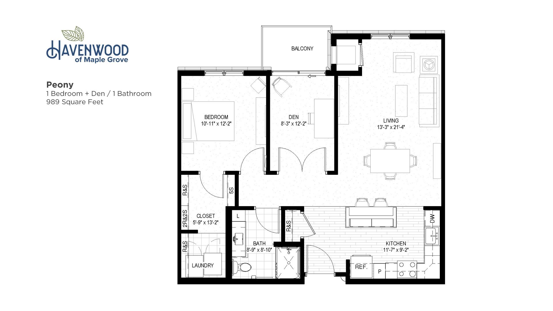 Havenwood of Maple Grove Peony Floor Plan