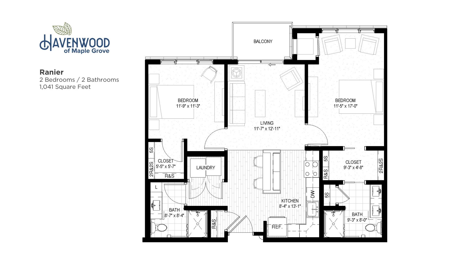 Havenwood of Maple Grove Ranier Floor Plan