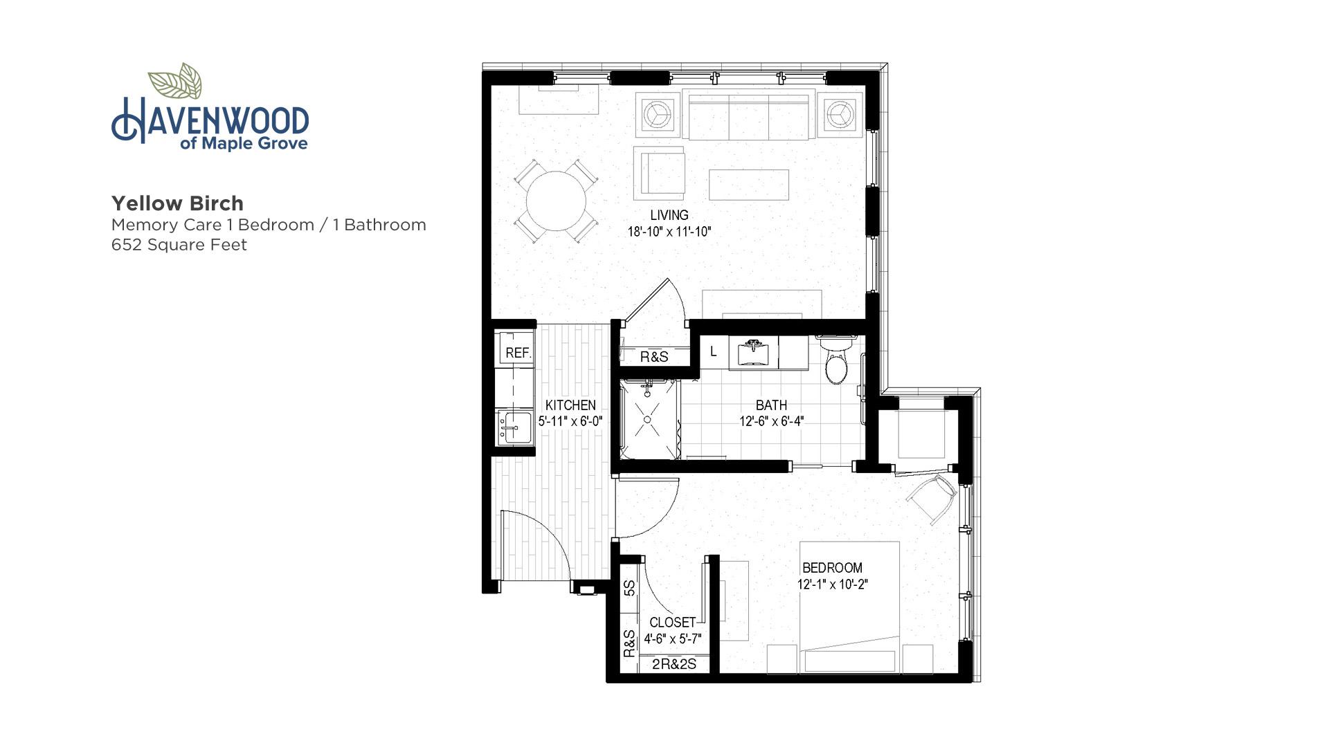 Havenwood of Maple Grove Yellow Birch Floor Plan