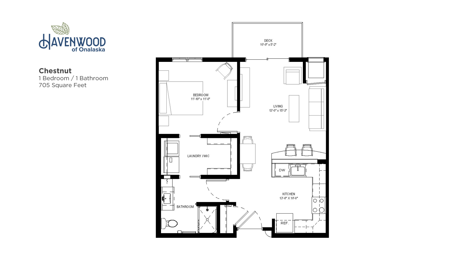 Havenwood of Onalaska Chestnut Floor Plan
