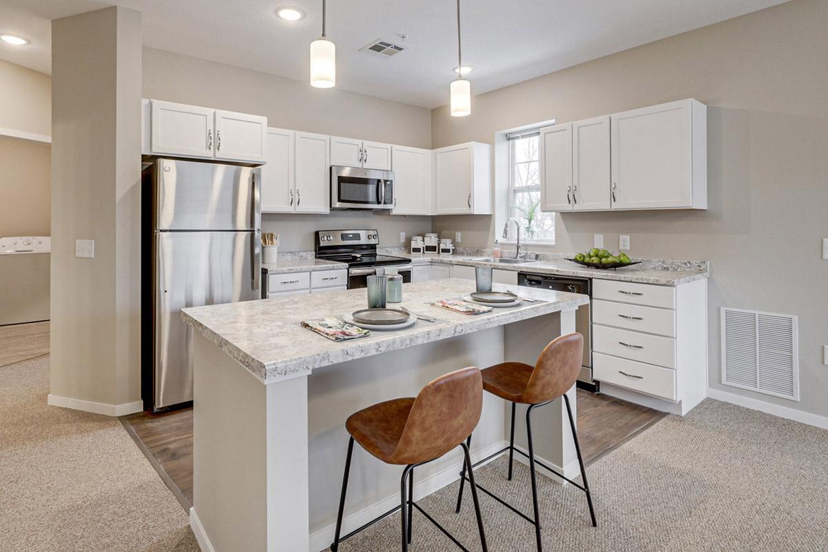 Havenwood of Minnetonka Senior Assisted Living Apartment Kitchen