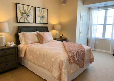 Havenwood of Burnsville Senior Living Apartment Bedroom