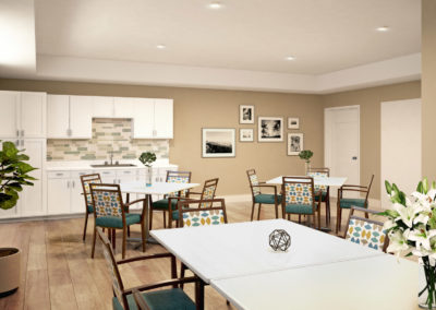 Havenwood of Burnsville Craft Room Rendering