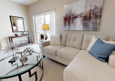 Havenwood of Minnetonka Senior Living Apartment Living Room