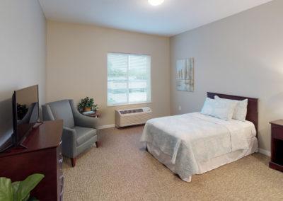 Havenwood of Minnetonka Memory Care Bedroom
