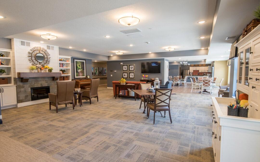 Havenwood of Minnetonka Memory Care Lounge