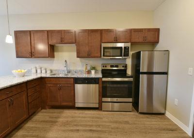 Senior Living Apartment Kitchen