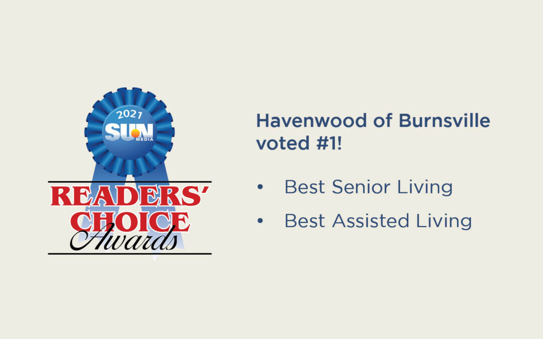 Havenwood of Burnsville voted #1!