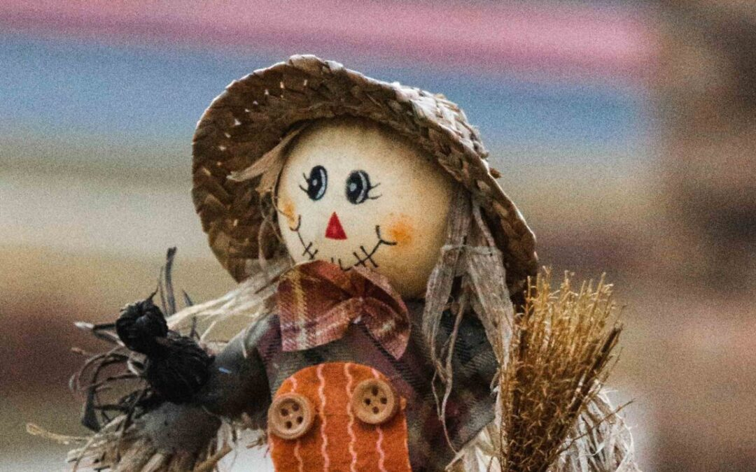 Create a scarecrow for our fall extravaganza!