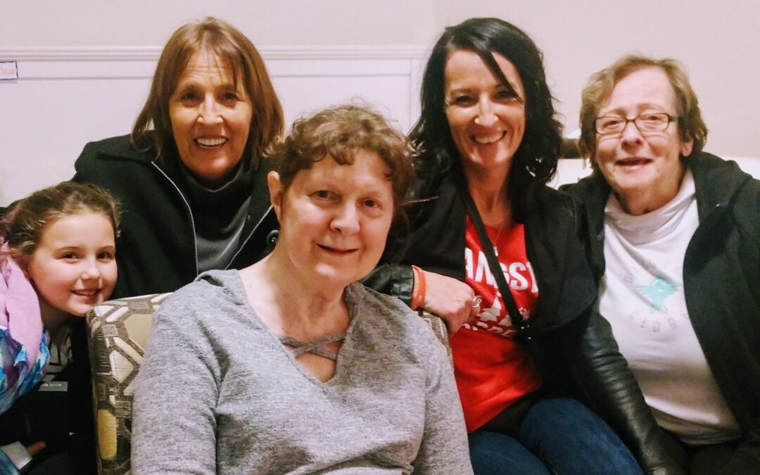 """I feel peaceful knowing my aunt is loved""—Sarah and Jennifer's powerful story"