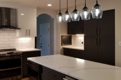 Modern Kitchen. Executive cabinetry. Quartz Countertop.