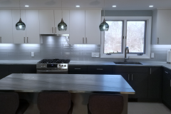 Elmwood cabinets with Quartzite  Countertops