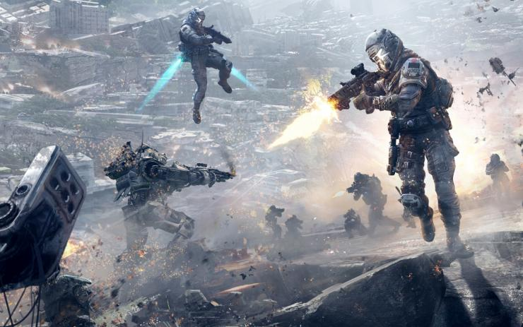 Titanfall 2 1.10 update for PS4