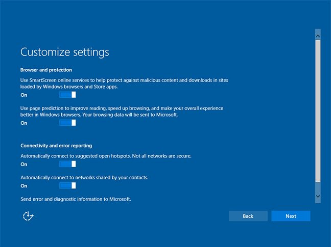 Windows 10 New Installation