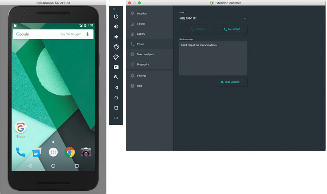 Google Android Studio 2.0