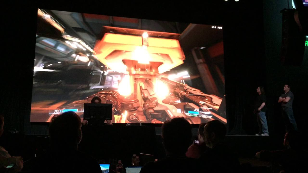 DOOM at 200FPS on Nvidia GTX 1080