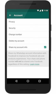 Stop WhatsApp from sharing your data with Facebook (2)