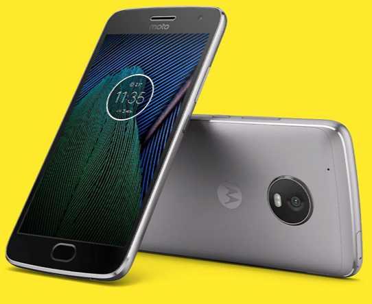 Moto G5 Plus update
