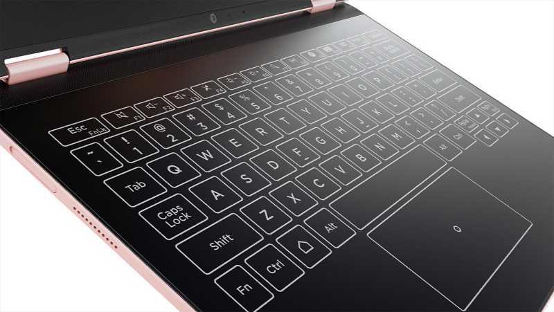Lenovo Yoga A12 Android tablet Halo keyboard
