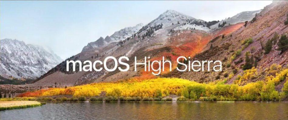 Apple macOS High Sierra sihmar