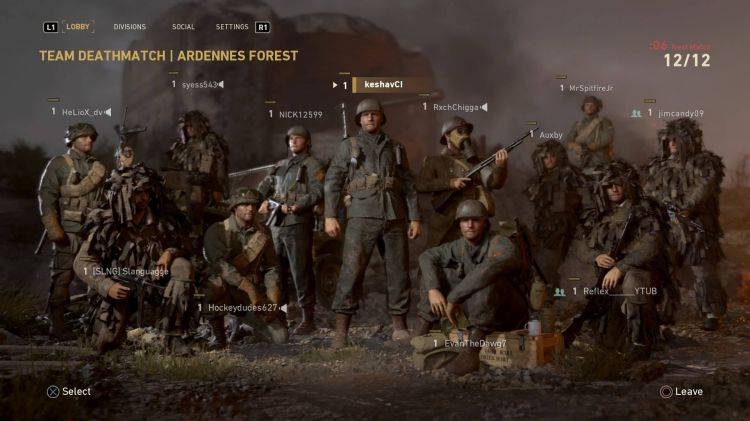 Call of Duty WWII update 1.02