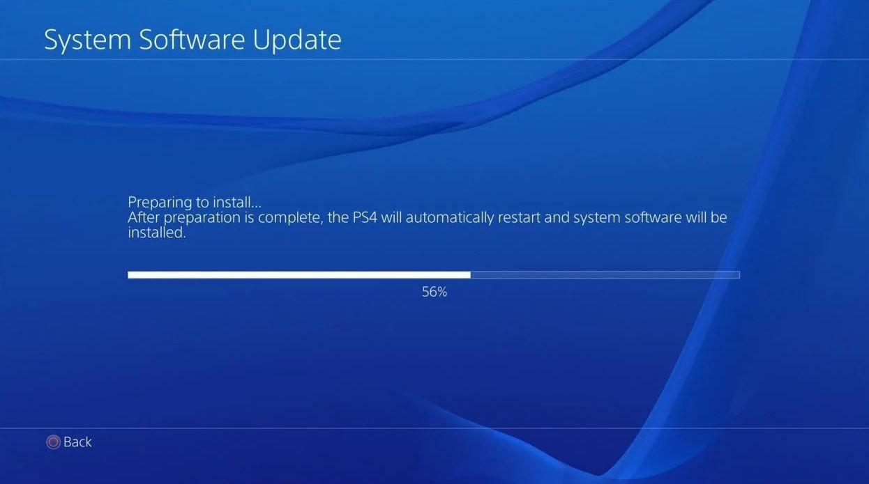 PlayStation 4 update 5.53