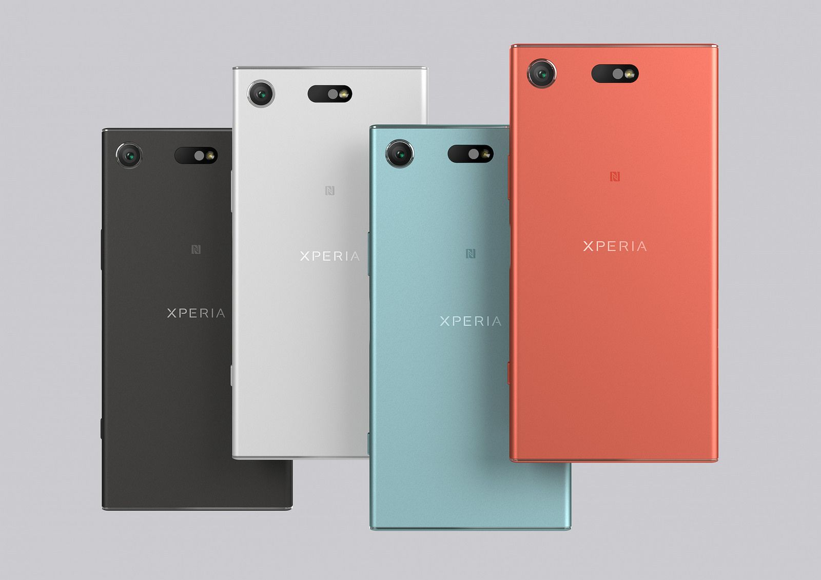 Sony Xperia XZ1 and Xperia XZ1 Compact smartphones sihmar (2)