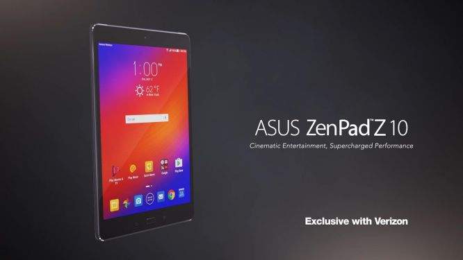 Verizon's Asus ZenPad Z10 sihmar