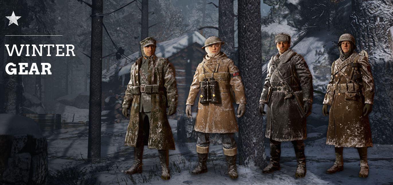 Call of Duty WW2 patch 1.08 Winter Siege (1)