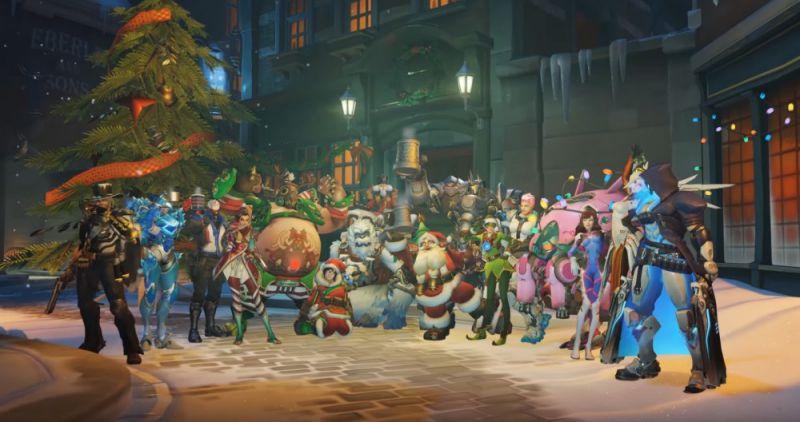 Overwatch Update 2.34 Winter Wonderland Patch Notes-Sihmar