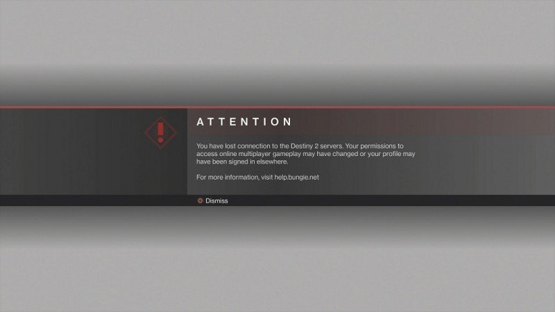 Permissions to access online multiplayer may have changed