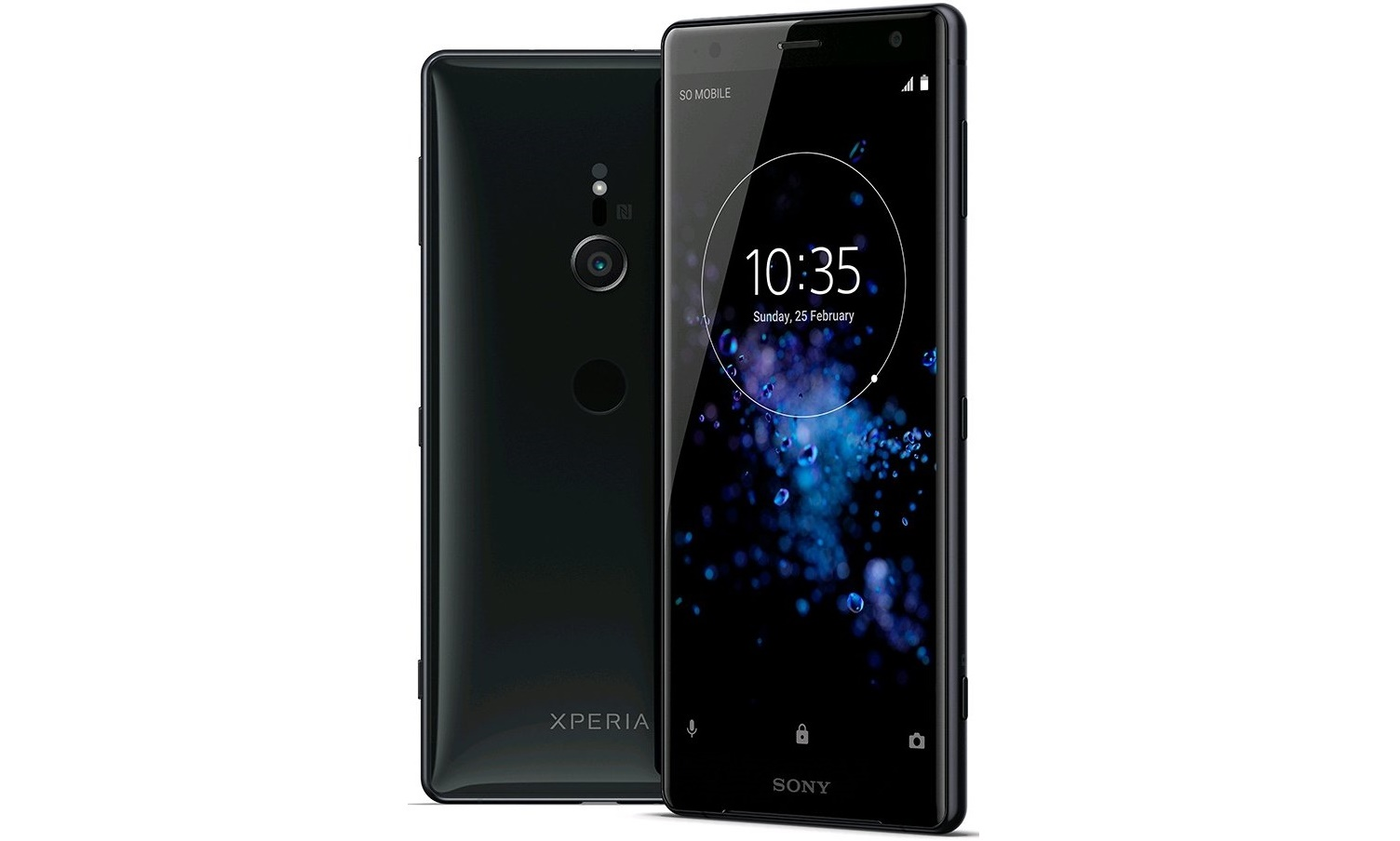 Sony Xperia XZ2 and XZ2 Compact Image and Specs